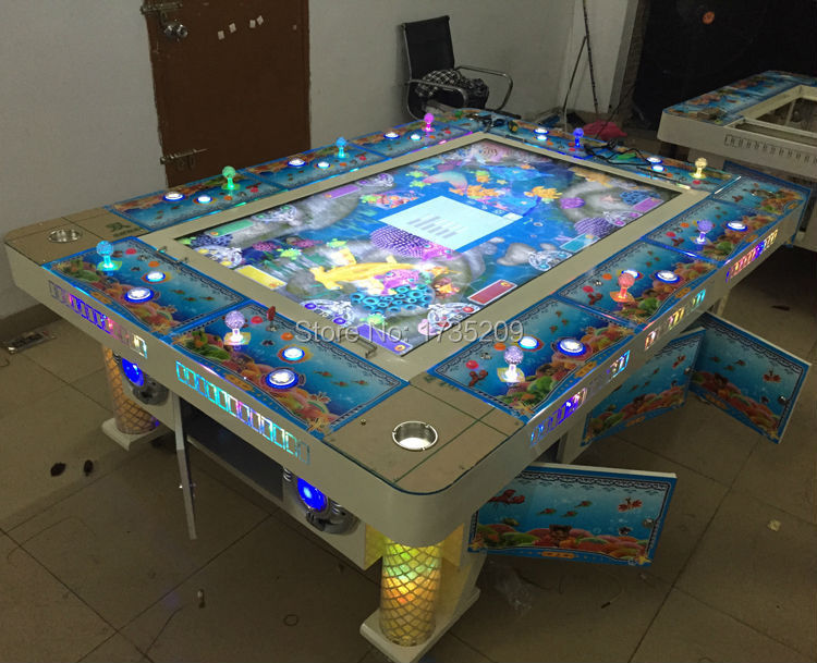 Coin operated games mini arcade machine for IGS ocean king