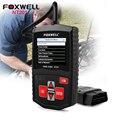 100% original foxwell nt201 obd2 leitor de código de carro ferramenta de diagnóstico auto obd analisador de motor melhor do que elm327 do scanner universal