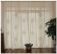 100 High Quality Country Vintage Cotton Linen Crochet Curtains Las Cortinas Rideau Le Tende Der Vorhang
