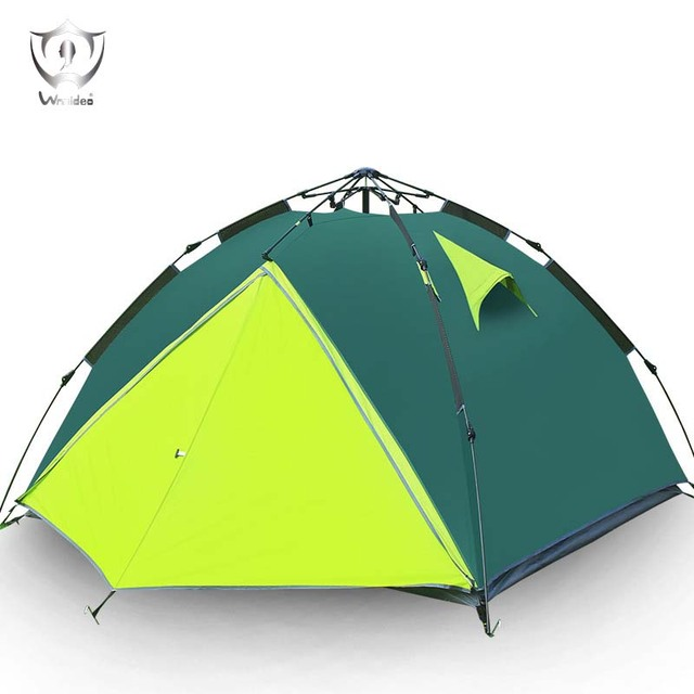 Outdoor C&ing Supplies 3-4 Double Rainproof Automatic Tent Traveling Family Dome Tent with Carry  sc 1 st  AliExpress.com & Outdoor Camping Supplies 3 4 Double Rainproof Automatic Tent ...