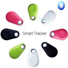 Smart Bluetooth Tracer GPS Locator Tag Alarm Wallet Key Pet Dog Tracker Finder Blue