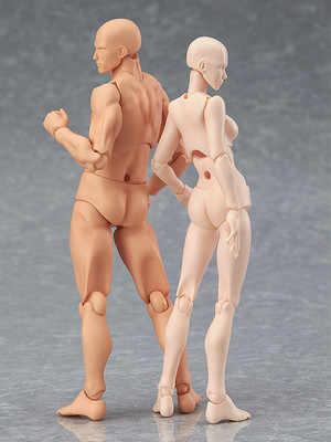 Anime arquétipo ele ela ferrite figma corpo móvel kun corpo chan figura de ação modelo boneca para collectible escritório decoração para casa