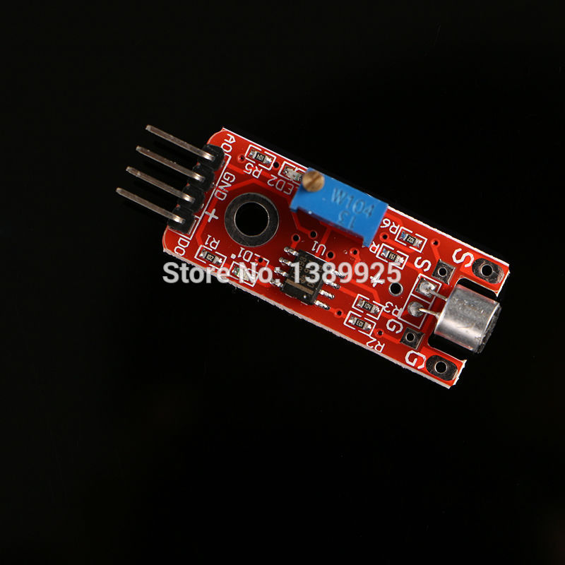Factory Selling Free Shipping 100pcs small microphone sound sensor module For AVR PIC KY-038