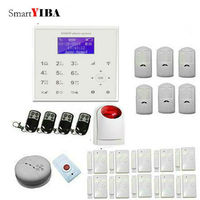 SmartYIBA 720P WiFi IP Camera For Alarm System WIFI GSM Safety System For Home Protection Fire