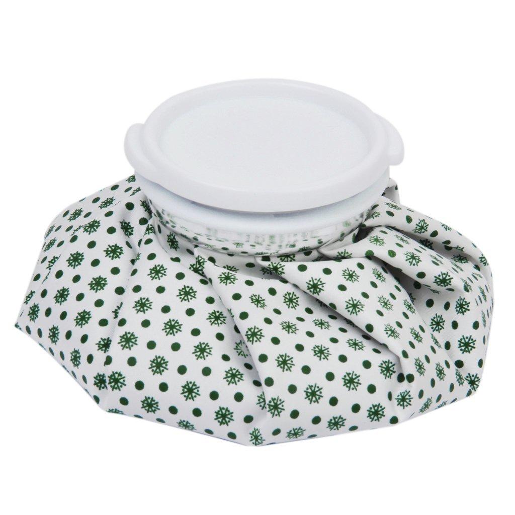 100% Wahr 9 Zoll Lange Schmerzlinderung Eisbeutel-weiß + Grün Spezieller Kauf