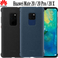 Original Huawei Mate 20 X case PU leather back cover official Huawei Mate 20 X phone case magnetic car holder cover Mate20 X
