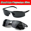 2016 Special Offer Sport Gafas De Sol Aluminium Titanium Magnesium Battle Field Style Polarized Uv400 Uv100% Mens Sunglasses