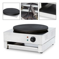 Электрическая блинница пицца блинная машина антипригарная 15,74 ''коммерческий торт изготовление кухонных инструментов для приготовления хл