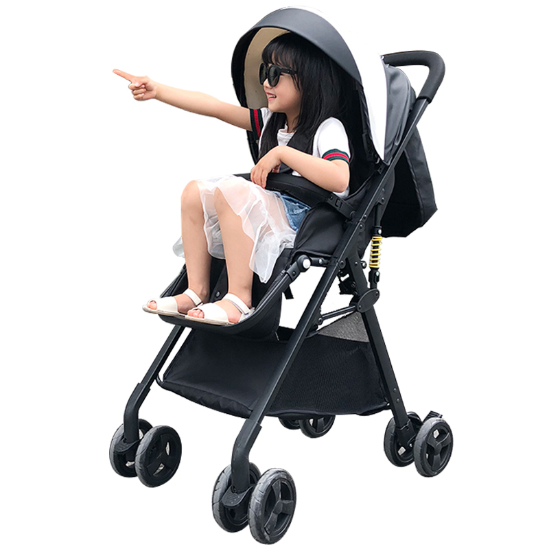 Baby stroller can sit lie light and ultra light small portable high landscape baby stroller slip baby artifact one hand secondsBaby stroller can sit lie light and ultra light small portable high landscape baby stroller slip baby artifact one hand seconds