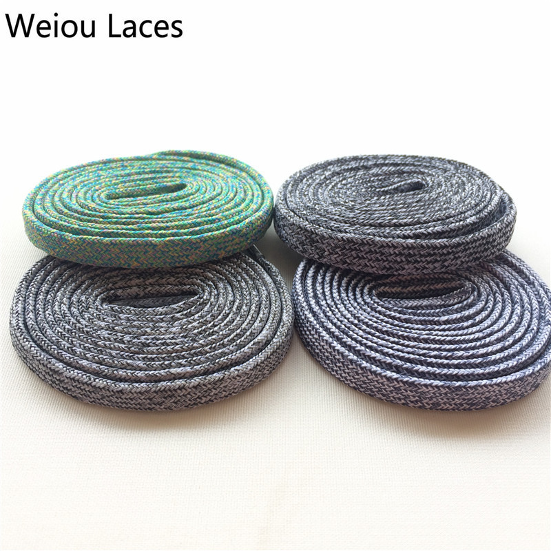 (30pairs/lot)Weiou Colorful Shoelaces Flat Bright Colored Shoe Laces Boot Laces Uk Black And White Basketball Athletic Bootlaces vsen 2x 47 glitter flat coloured shoelaces boot laces sport dance red