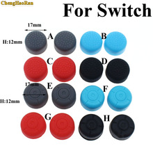 2pcs Heighten Soft Silicone  Stick Grip Cap Case Cover for Left Right Nintend Switch Joy-Con NS NX Console Controller Games ivyueen 5 in 1 for nintend switch ns console handle grip protective cover with 4 thumb stick caps case for joy con controller