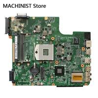 Original For Toshiba L740 L745 laptop notebook motherboard A000093450 DA0TE5MB6F0 HM65 DDR3 PGA989