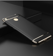 Luxury Ultra Thin Metal Plating Frame Hard Case Protective Cover For Xiaomi Redmi 4X/4a Phone Hongmi 4X Capa