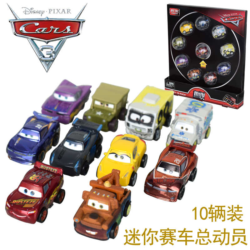 Pixar Cars3 Toys For Kids Lightning Mcqueen Racing Car Series Mini