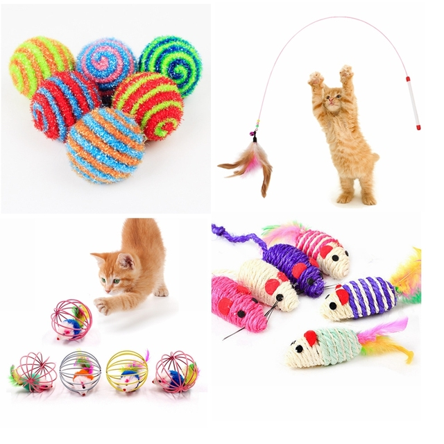 Different toys for cats 2