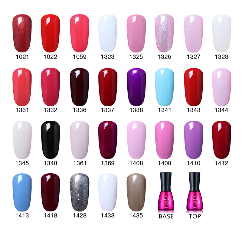 Beau Gel 7ml UV Gel Nail Polish Long Lasting Pure Color Rendam Off - Seni kuku - Foto 2
