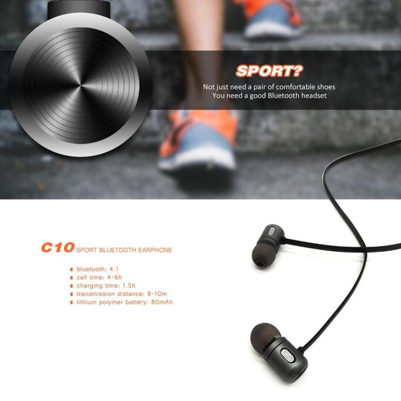 все цены на audifonos Wireless Bluetooth Earphones With Mic Magnetic in ear Sports Earbuds Headset For iphone Samsung mobile phone