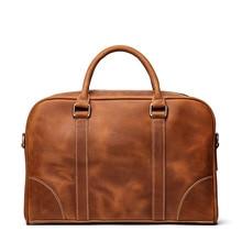 цена на Brand New Genuine Leather Shoulder Bag Men's Handbag Male Cowhide Messenger Bag Cross Body Handle Pack 15' Briefcase Portfolio