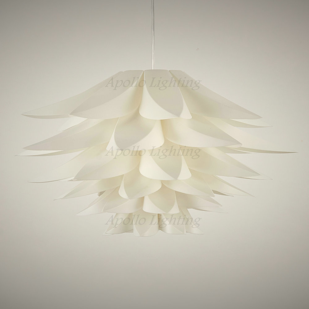 Aliexpress Buy Flat Flower White Plastic Lotus Creative – White Plastic Chandelier