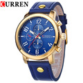 Curren Men's Sports Quartz Watches Mens Watches Top Brand Luxury Leather Wristwatches Relogio Masculino Men Curren Watches 8192