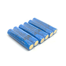 18pcs/lot TrustFire TR14650 14650 3.7V 1600mAh Rechargeable Lithium Battery with Protected PCB Power Source for LED Flashlight