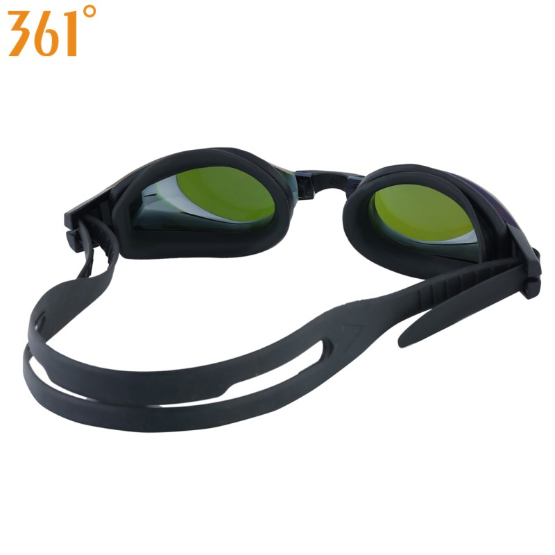 361 Degree Adult Pool Anti Fog Prescription Myopia Swimming Goggles And Mirrored Professional Swim Glasses 15