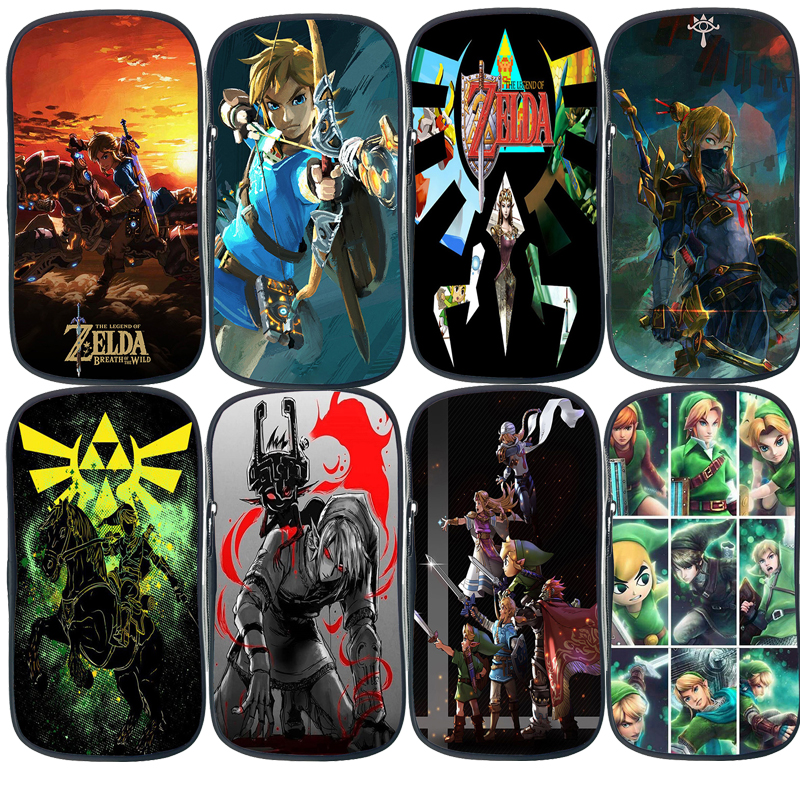 New The Legend of Zelda Pencil Case Link Students Boys Girls Bags Fashion Cute High Quality Pencil Holder Teens Pencil Storage(China)