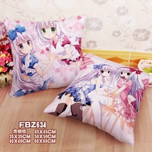Anime Home Textile Two sided Square Throw Pillow Cover Cases ALICE or ALICE alice
