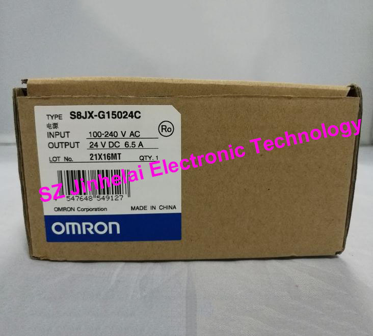 100%New and original OMRON Switching power supply  S8JX-G15024C  6.5A 100% new and original cj1w pa205r omron power supply unit power module