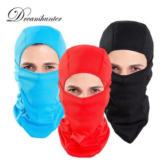 Unisex Outdoor Sports Cycling Mask Sun Ski Neck Protect Summer Bicycle Breathable Full Face Masks Balaclava Windproof Thermal