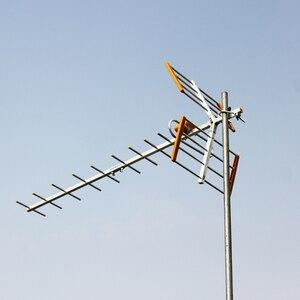 Image 4 - Antenne de télévision extérieure numérique HDTV à Gain élevé pour DVBT2 HDTV ISDBT ATSC antenne de télévision extérieure à Signal fort à Gain élevé