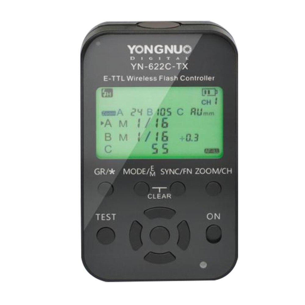 Yongnuo YN 622C TX YN622C TX LCD Wireless e TTL Flash Controller 1 8000s for Canon