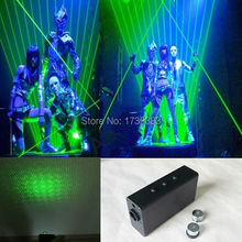 4pcs 532nm 100mw Double-Headed lends Green Laser Sword DJ Dancing Stage Show Light star wars laser sword rough beam stage props
