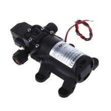Dc 12v 130PSI 6L/分の水高圧自吸式ポンプ70ワット新J16 19ドロップシップ