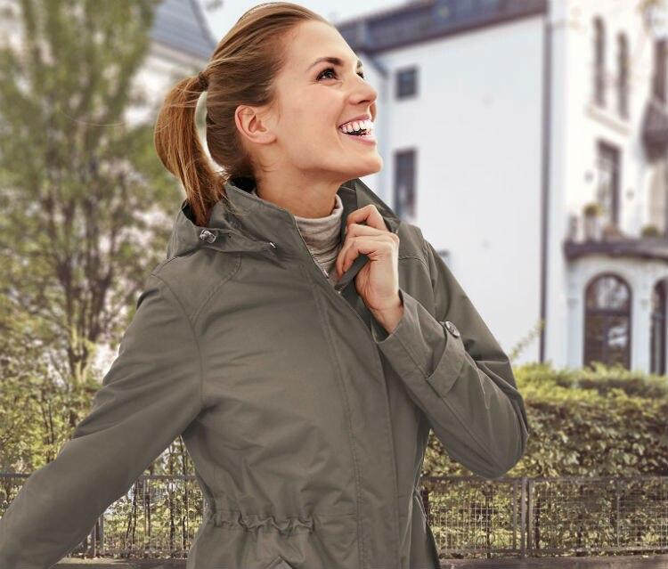 frete gratis das mulheres de alta qualidade casaco quente ao ar livre pesca camping casaco de