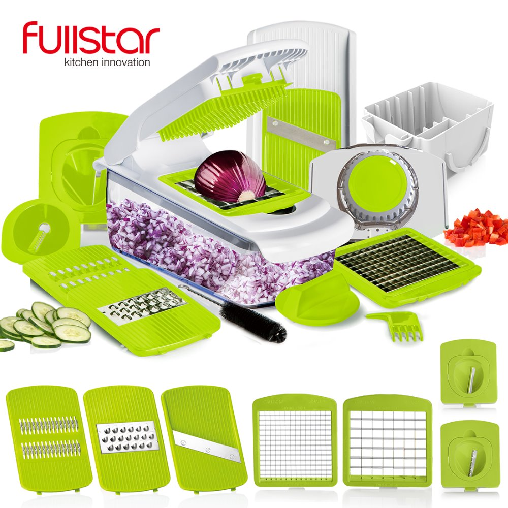 Kitchen accessory Mandoline Slicer knife Food Chooper Vegetable Cutter Peeler, Slicer,Grater kitchen tool with 7 Dicing Blades