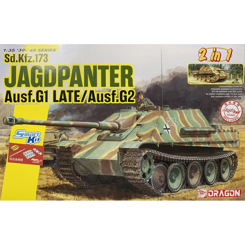 DRAGON 6924 1/35 Sd.Kfz.173 Jagdpanther Ausf.G1 Late / G2 [w/Metal Barrel,Magic Track]   Scale model Kit-in Model Building Kits from Toys & Hobbies    1