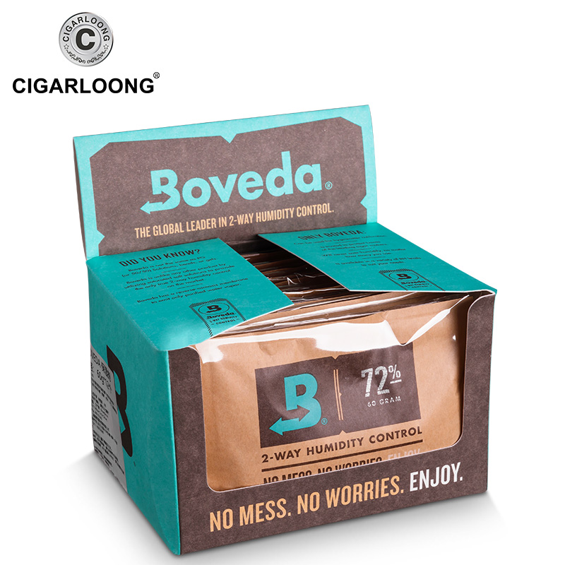 <font><b>Boveda</b></font> Professional Cigar Moisturizing Bag Humidity Bag Humidity Pack Humidifier Cigar Humidifier Bag for Cigar Humidor image