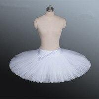 2018 Professional Ballet Tutus Adult Stiff Pancake Half Ballet Tutu Black Practice Tutu Skirts Kids White