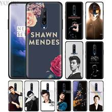 Shawn mendes Phone Case for Oneplus 7 7Pro 6 6T Oneplus 7 Pro 6T Black Silicone Soft Case Cover