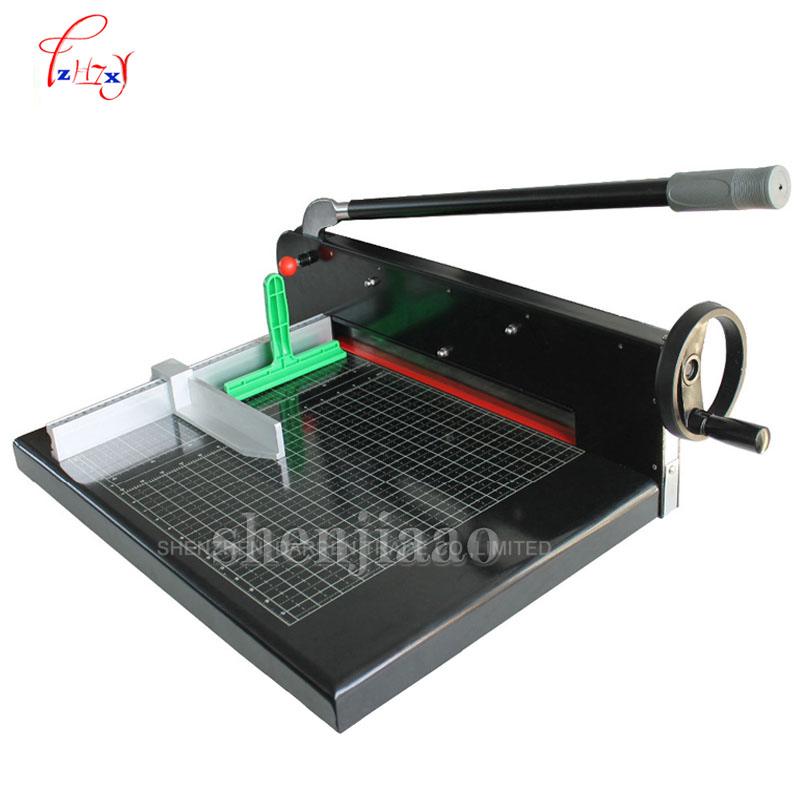 Paper Cutter trimmer cutter Heavy Duty All Metal Ream Guillotine 17 A3 Size Stack Paper Cutting Machine SG-299A3 цена