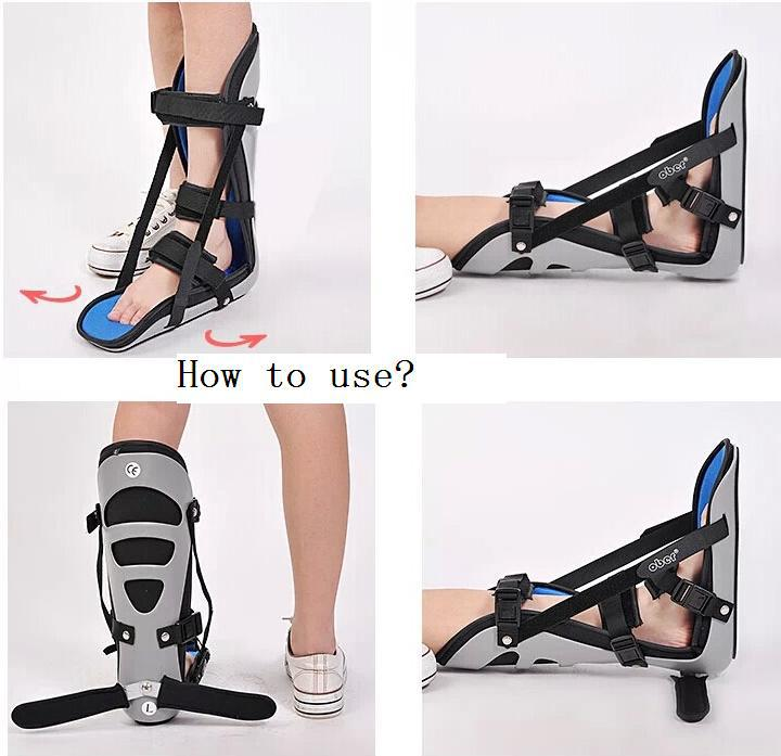 Foot ortthotic medical shoes for feet rehabilitation sprain Achilles tendon fracture Fixed support leg ankle drop correction