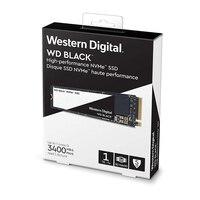 WD SSD черный NVMe 3D NAND 1 ТБ M.2 2280 SSD WDS100T2X0C твердотельный диск 3400 МБ/с. PCIe Gen3 8 ГБ/сек. для PC ноутбук