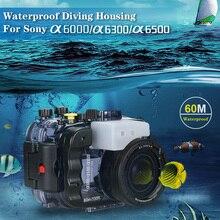 Seafrogs 60 M Duiken Onderwater Waterdichte Behuizing Case Voor Sony A6000 A6300 A6500 Camera