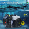 Seafrogs 60m Diving Underwater Waterproof Housing Case For Sony A6000 A6300 A6500 Camera