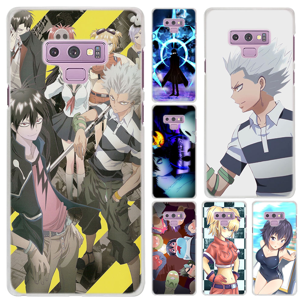 Blood Lad.Wolf Pattern Transparent frame hard Case Cover for Samsung Galaxy  Note 9 8 Note 5 S6 S7 Edge S8 S9 Plus-in Half-wrapped Case from Cellphones  ...