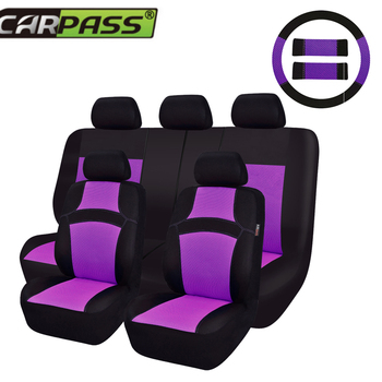 Car-pass Auto Interior Accessories Car Seat Covers Car Styling Linings Universal Car Seat Cover For Toyota lada kalina Ford 2