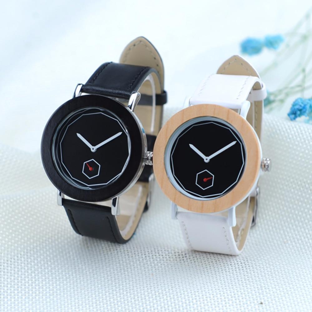 BOBO BIRD Women Hotloges Vrourven Quartz Watch New Unique Fashion Design Wooden Wristwatches in Paper Gift