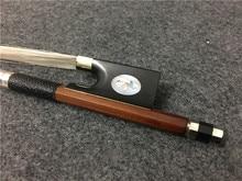1PCS Ordinary style violin bow. Star bow. Ebony tail base. Shell inlay #XG128
