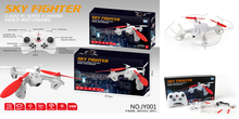 Cheap price 2.4Ghz 4ch rc drone quadcopter with 2MP camera (H107D copy)